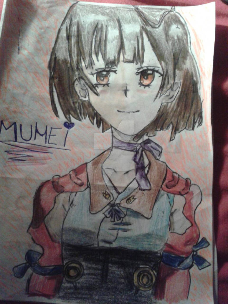 Mumei Character Fan Art^^ =^.^= by CatgirlLizzie1234