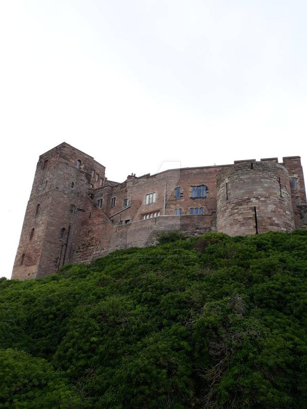 Bamburgh Castle, Northumberland  by CatgirlLizzie1234