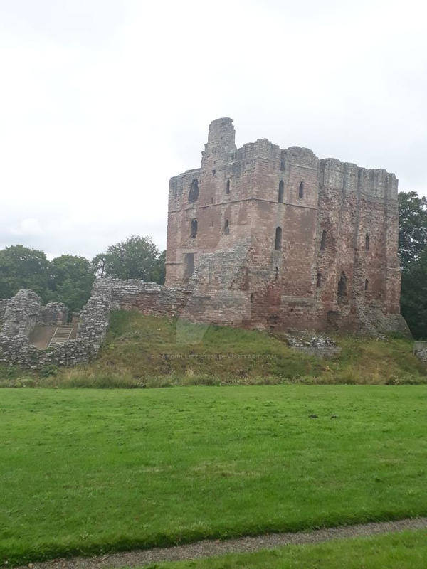 Norham Castle  by CatgirlLizzie1234