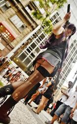 Busujima Saeko - Zombie Walk Brazil 2012