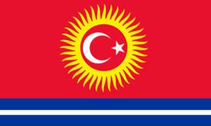 Alt Kyrgyzstan Flag by Clayzee95