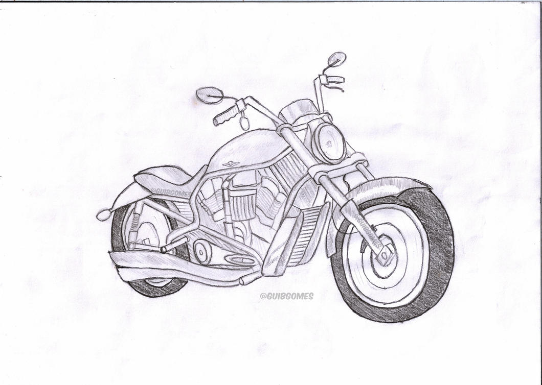 Image Result For Harley Motorcycle Coloring