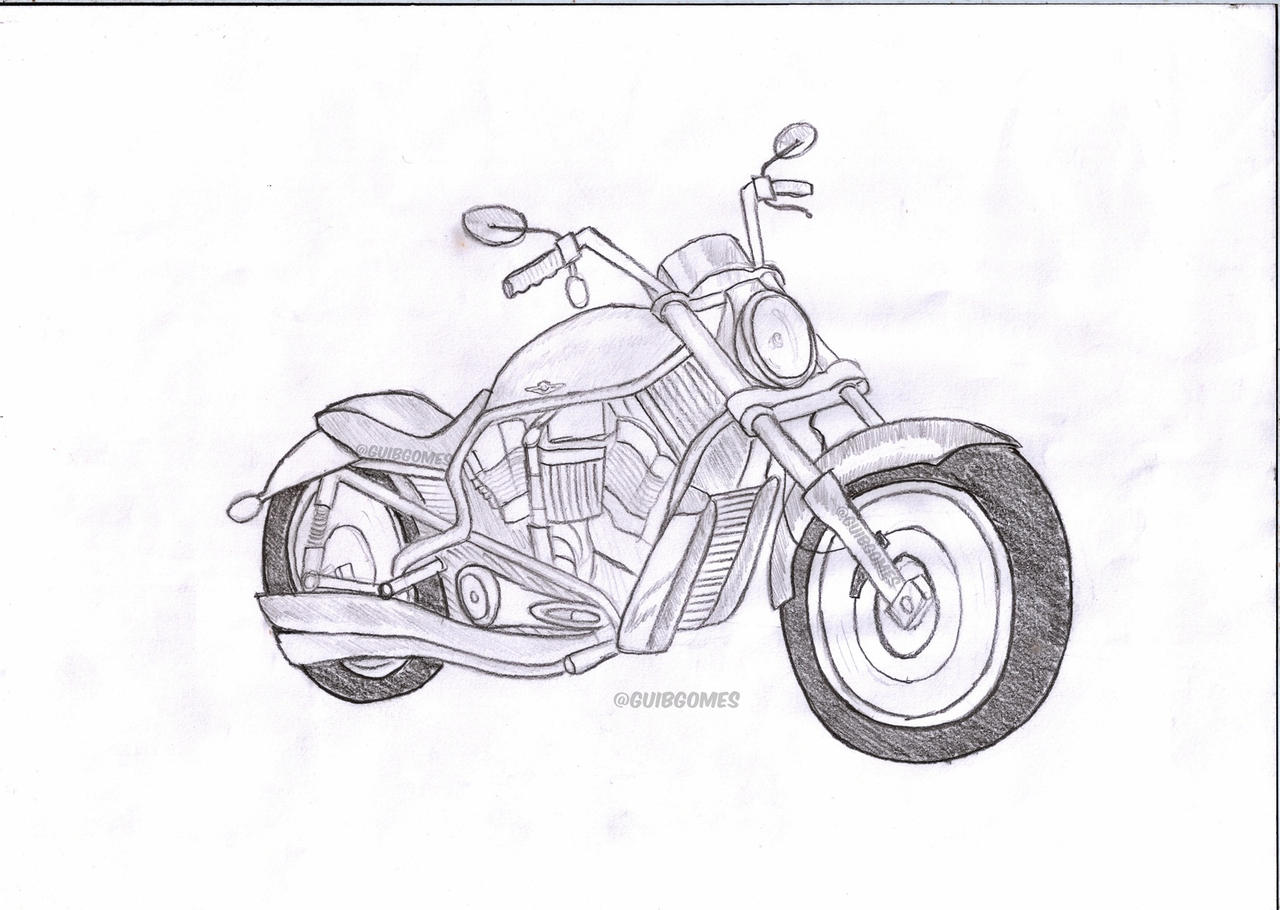 Honda Motorcycle Coloring Pages