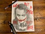 Heath Joker Portrait