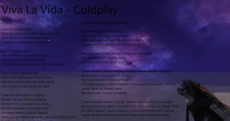 Coldplay - Viva La Vida by LoneWolfRival