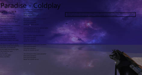 Paradise - Coldplay by LoneWolfRival