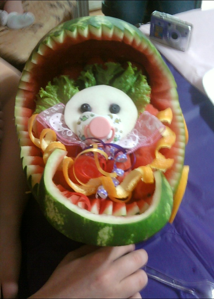 baby shower watermelon baby shower watermelon by