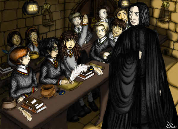Potions Master by HermioneGrangerClub
