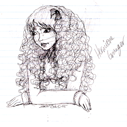 Pondering Hermione by HermioneGrangerClub