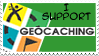 I SUPPORT GEOCACHING by AurePeri