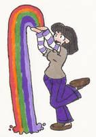 Happy Rainbow Day by AurePeri