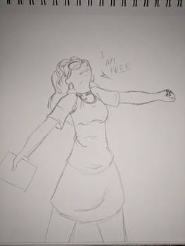 [Sketch] I am free!