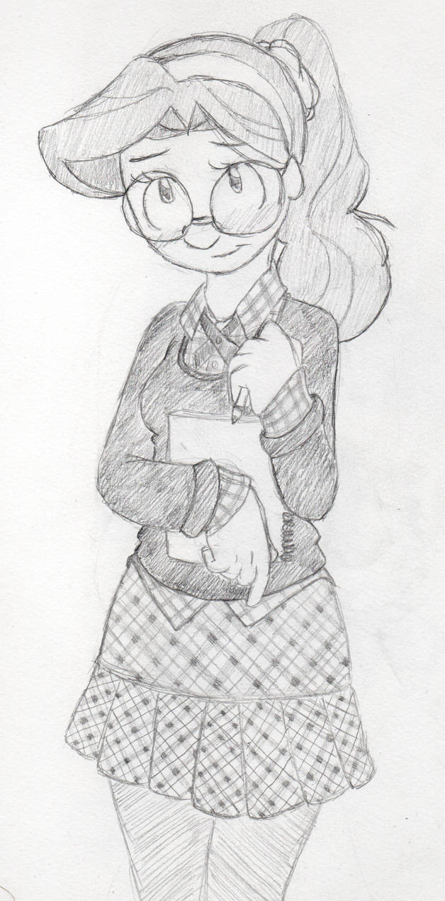 Kylee, school girl chic v4