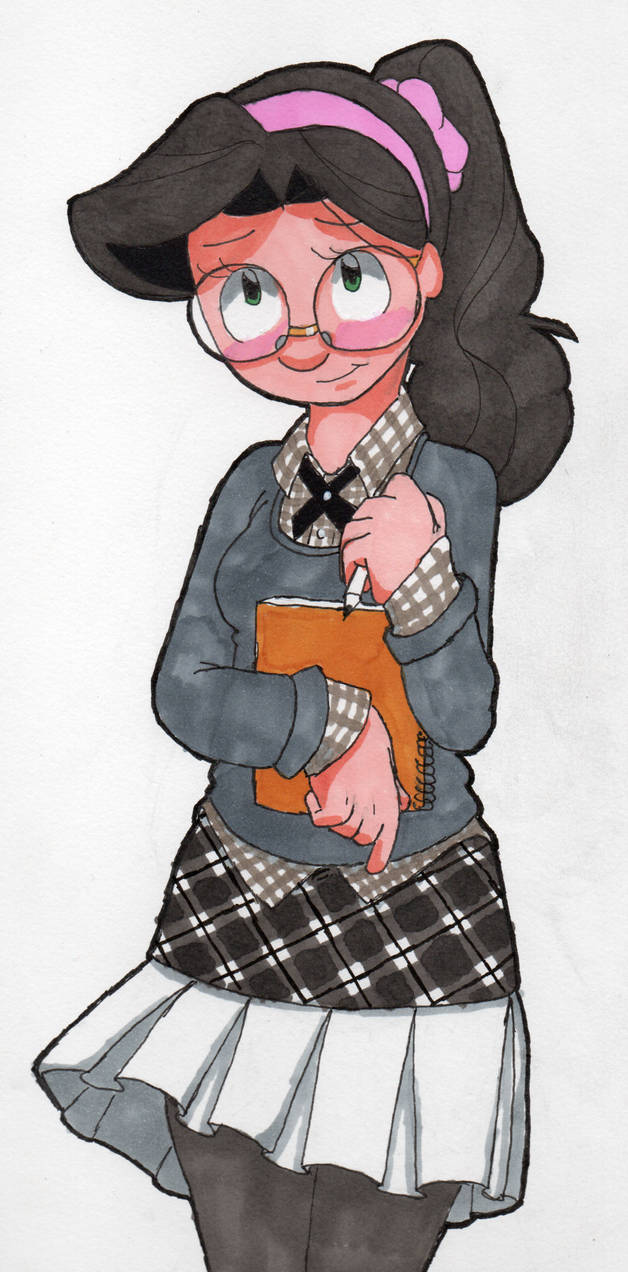 Kylee, school girl chic [Finished]