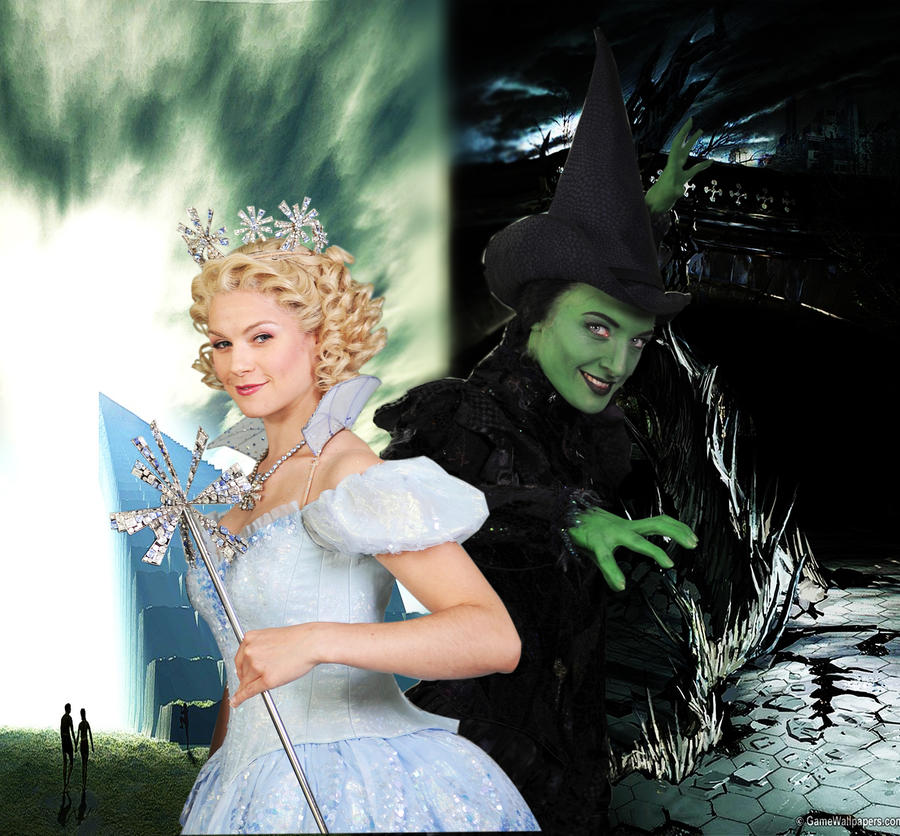 wicked elphaba and glinda relationship help