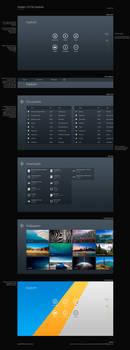 Modern UI File Explorer Concept