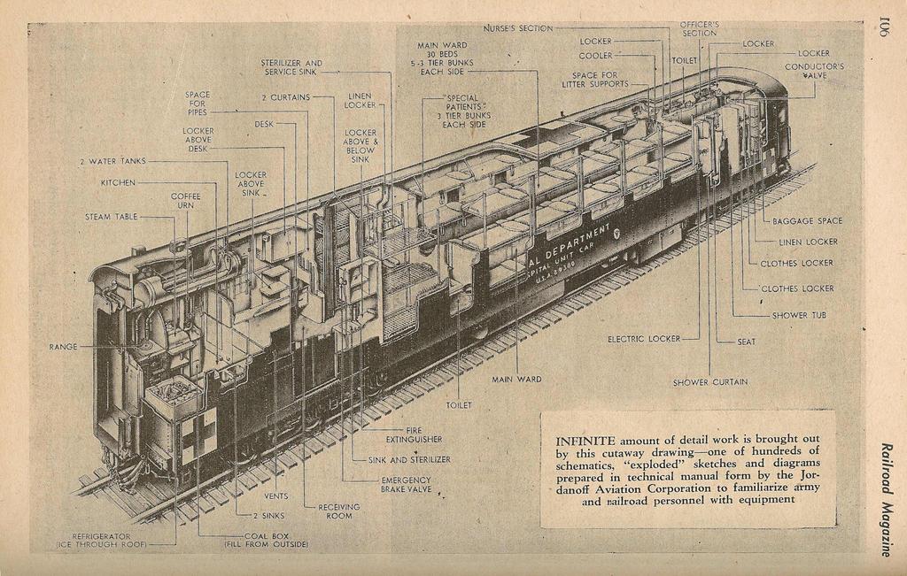 american army medic train inside schematics by futurewgworker on rh deviantart com Big Boy Locomotive Schematic vox night train schematics