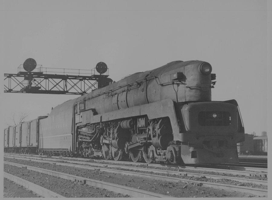 PRR T1 #6610 steam locomotive  by FutureWGworker on DeviantArt