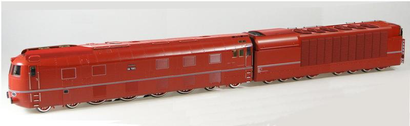 Breitspurbahn locomotive model.