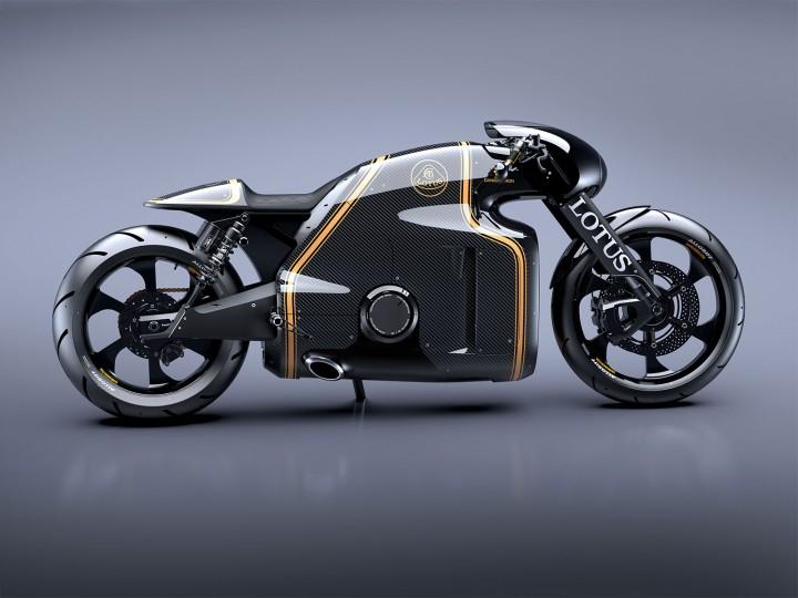 Daniel Simon's Lotus Motorcycle design. by FutureWGworker