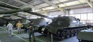 IS-7 soviet heavy tank.