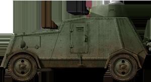 UNL-35 spanish civil war armoured car. by FutureWGworker