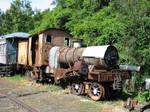 Prince E class steam locomotive.