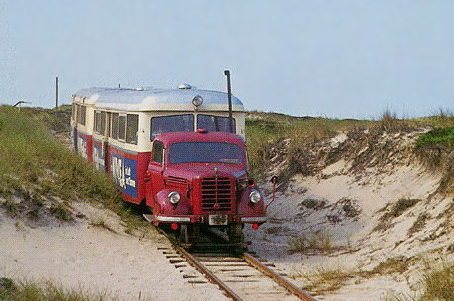 Sylter Inselbahn converted railcar. by FutureWGworker