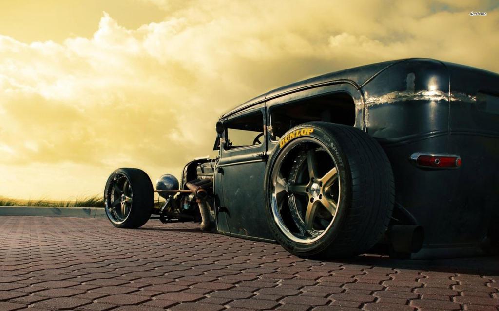 Ford Model T Rat Rod Wallpaper By FutureWGworker
