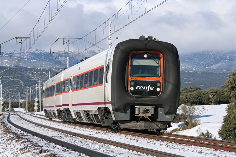 Renfe TRD 594.108 Trainset. by FutureWGworker