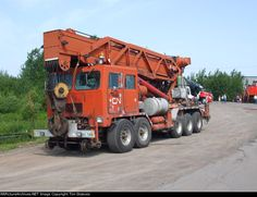 CN Brute 150 Hi-Rail Crane. by FutureWGworker