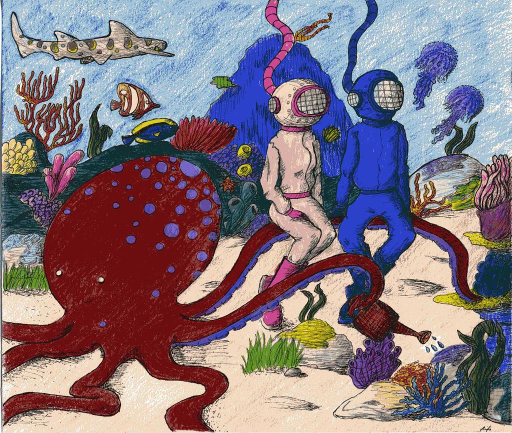 Octopus 39 S Garden By Wallower On Deviantart