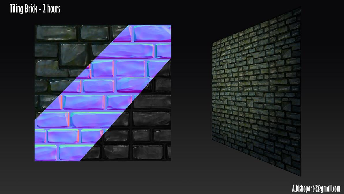 Tiling Castle Brick by StormAndy