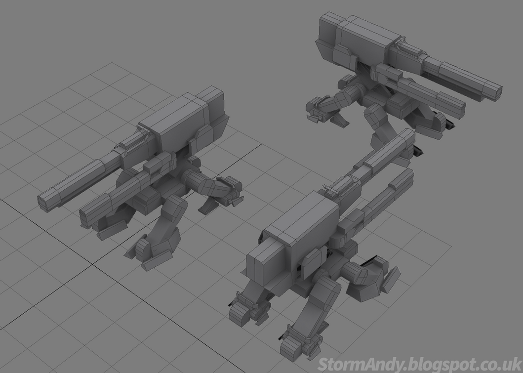 Halo - Evolution's Anti Armor Turret by StormAndy