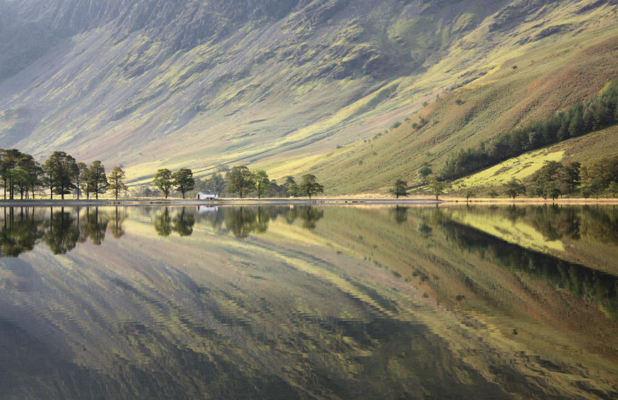 Buttermere Reflection by scotto