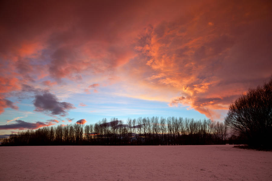 Winter Sky by scotto