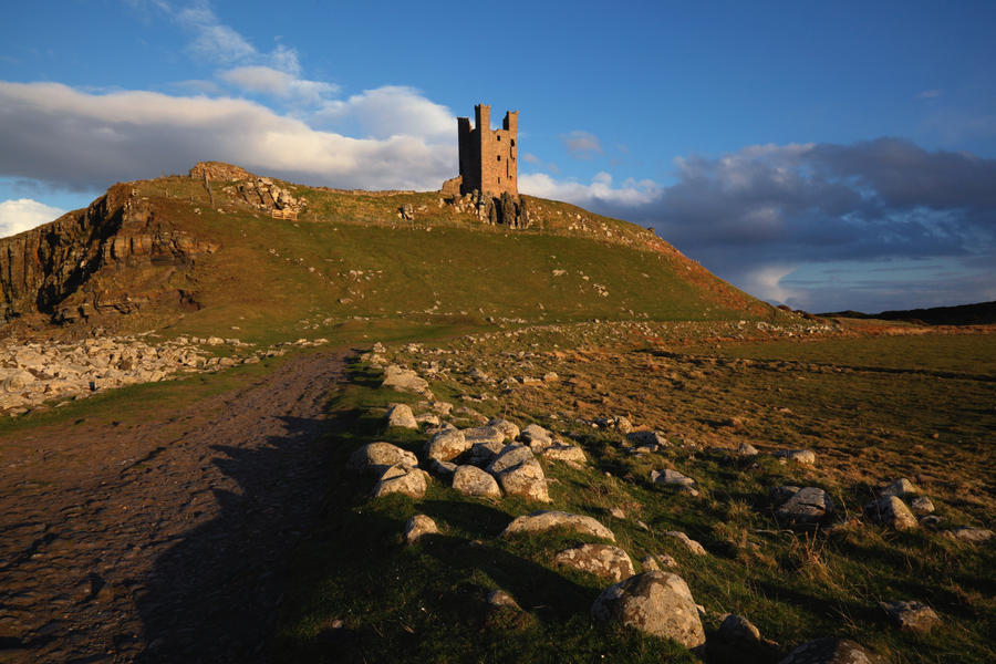 Dunstanburgh by scotto