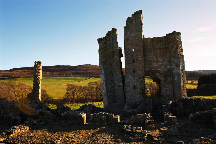Edlingham Castle by scotto