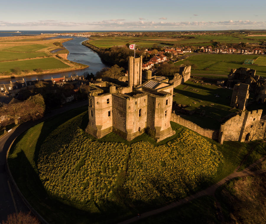 Warkworth Castle III by scotto
