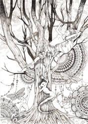 Dark forest by Elvfisalive