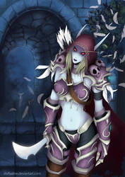Sylvanas Windrunner (Blizzard style)