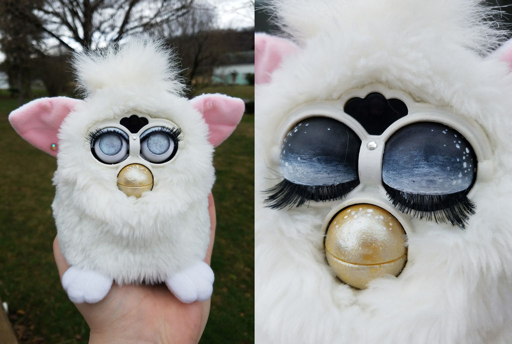 Customized Furby by remivalism on DeviantArt