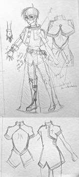 Satoshi: D.Grayman Robes