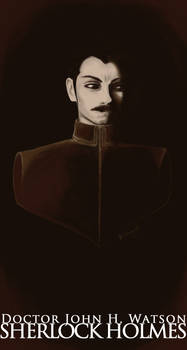 Sepia Bust - Dr JH Watson