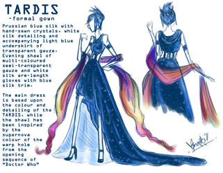 TARDIS: Formal Gown
