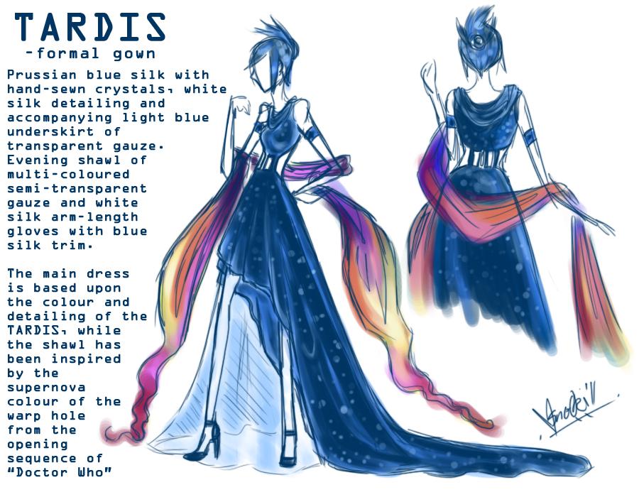 TARDIS: Formal Gown