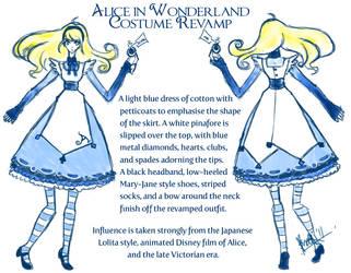 Alice: Revamped Costume