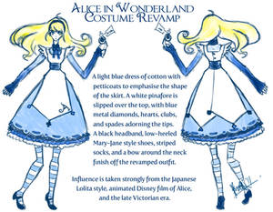 Alice: Revamped Costume