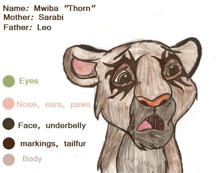 Mwiba 'Thorn' by TwinWolfSister