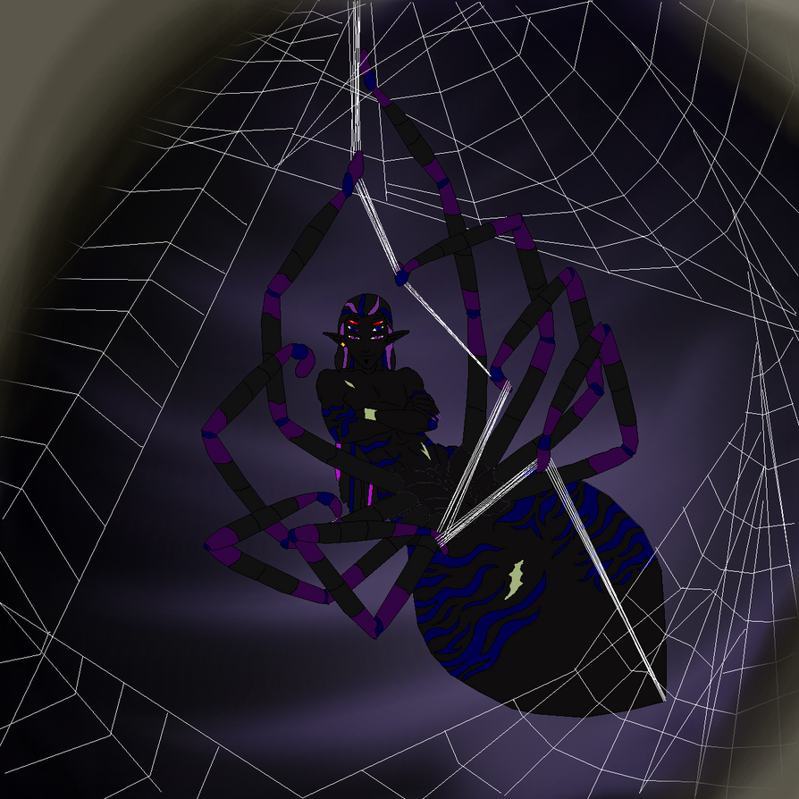 Racknius The Arachnitaur Nightmare by TwinWolfSister